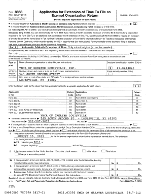 ymca louisville form 990