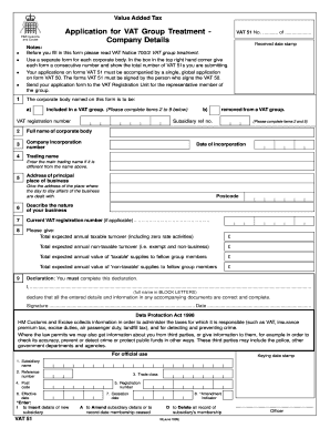 Blank Vat 51 Form - Fill Online, Printable, Fillable, Blank ...