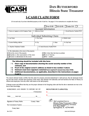 Icash - Fill Online, Printable, Fillable, Blank | PDFfiller