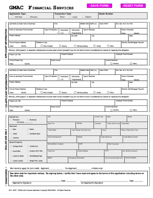 printable credit application