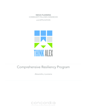 Comprehensive Resiliency Program - City of Alexandria