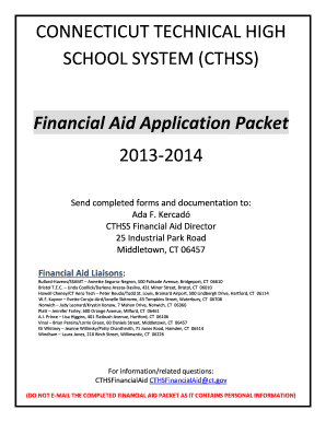 financial aid norwich tech program ada kercado form