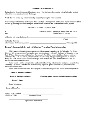 20 printable sworn declaration template forms fillable samples in