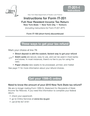 nys tax form it 201
