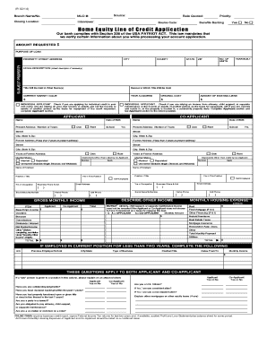 Fillable Online umb home equity line of credit application over