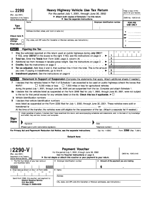 2290 form download  16 Printable form 16 tax computation table Templates ...