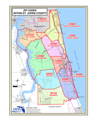 Fillable Online St. Johns County Zip Code Map - St. Johns ... on hollywood florida zip code map, jacksonville florida zip code map, evansville indiana zip codes map, saint louis missouri zip codes map, austin texas zip codes map, indianapolis indiana zip codes map, collier county zip code map, atlanta zip code map, lakeland florida zip code map, gainesville florida zip code map, fort worth texas zip codes map, portland oregon zip codes map, west palm beach zip code map, tampa zip code map, dallas texas zip codes map,