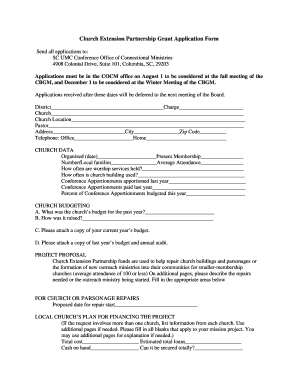 Church Partnership Form - Fill Online, Printable, Fillable, Blank ...