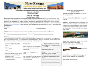 Learn more on how you can own one - Kansas Sport Hunting