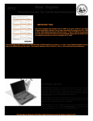 Wv Irs Fillable Forms - Fill Online, Printable, Fillable, Blank ...
