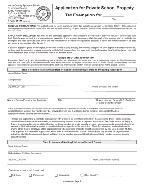sample private school application form