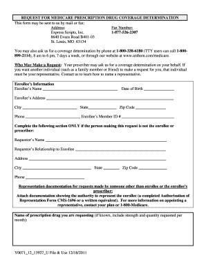Anthem Drug Determination Form - Fill Online, Printable ...