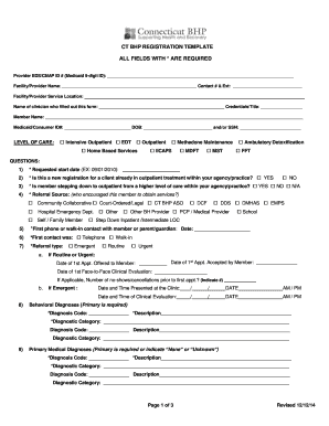 fillable online ct bhp registration template fax email