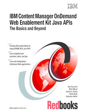 Fillable Online Ibm Content Manager Ondemand Web Ibm Redbooks