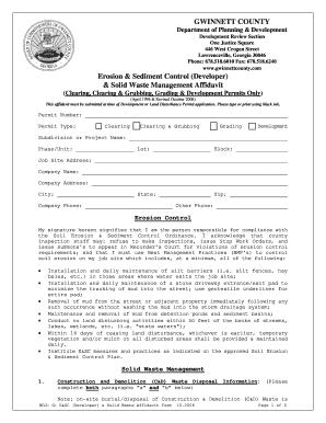 Gwinnett County Commercial Building Permit Application