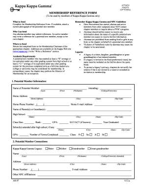 Kkg Recommendation Form - Fill Online, Printable, Fillable, Blank ...