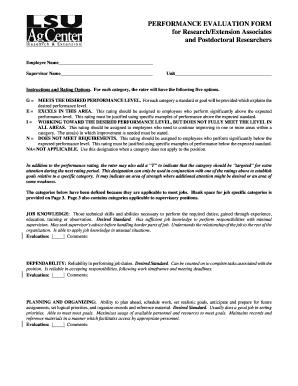 Tsc Appraisal Form