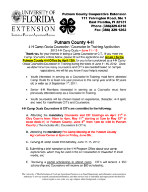 Professional Letter - Putnam County Extension Office - University of ... - putnam ifas ufl