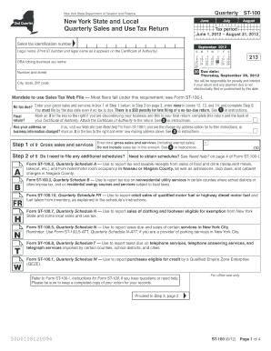 St 100 Form - Fill Online, Printable, Fillable, Blank | PDFfiller
