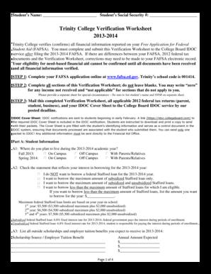 Worksheets Verification Worksheet Dependent Student dependent student verification worksheet help intrepidpath worksheets