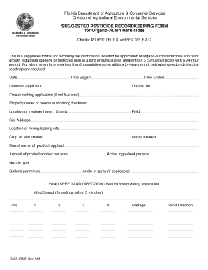 6578433 Pesticide Application Record Form Pdf on golf course, sheet alabama, controlled use, epa approved,
