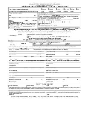 Editable kentucky title lien statement - Fill Out & Print ...
