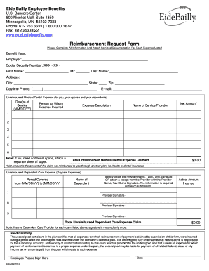 22 Printable Reimbursement Request Form Templates Fillable Samples In Pdf Word To Download Pdffiller