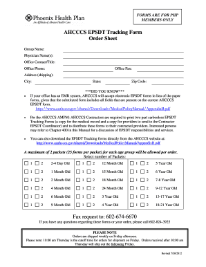 Emr With Epsdt Form - Fill Online, Printable, Fillable, Blank ...