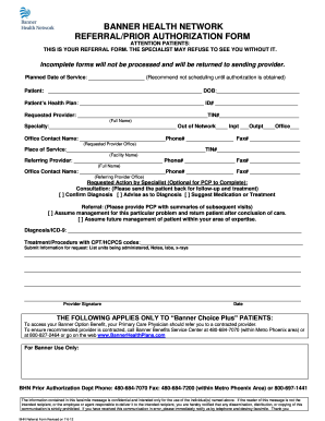 Prior Authorization Forms Fill Online Printable