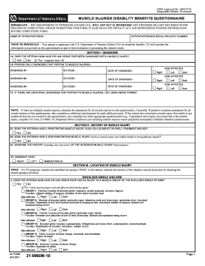 Va Form 21 0960m 14 - Fill Online, Printable, Fillable, Blank ...
