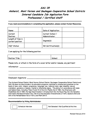 Candidate application fill online printable fillable for Candidate application form template