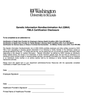 Fmla Certification Of Health Care Provider For Employees Serious ...