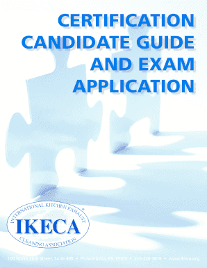 fillable online ikeca certification candidate guide and exam rh pdffiller com Certificate Seal Microsoft Certification