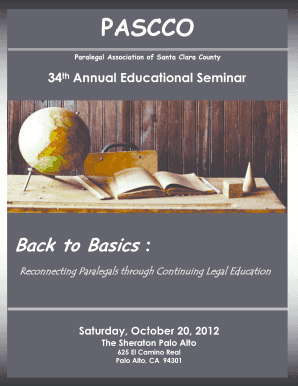 Paralegal Seminar Pdf - Fill Online, Printable, Fillable