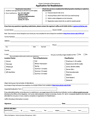 university of pennsylvania application form