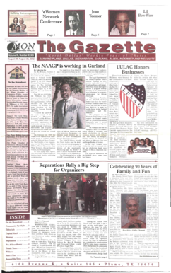 'e Women Network Conference Page 3 Jean Toomer La Bow Wow Page 5 Page 7 Af n pportuiuty News, Inc