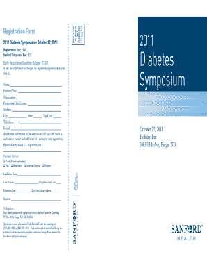 Diabetes Conference Brochure 2011.indd - Sanford Research - sanfordresearch