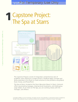 powerpoint capstone project 1 form