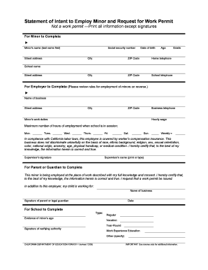 photo about Printable Workers Permit called Hard work Enable Sfusd - Fill On the web, Printable, Fillable, Blank
