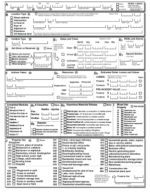 Ct Nfirs Form Template General Incident Report