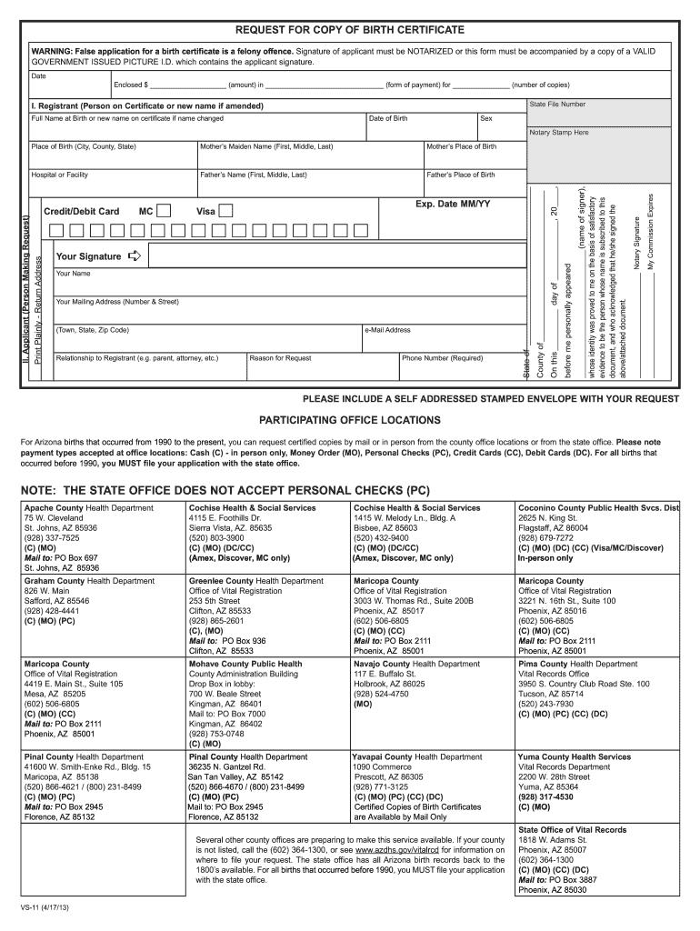 certificate birth form copy pdffiller vs certified blank fill