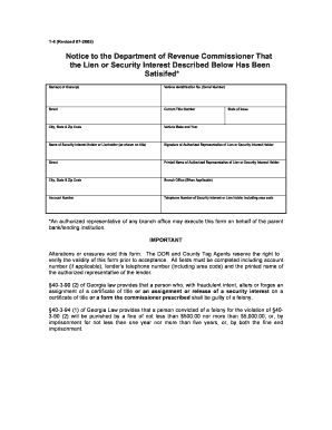 Fillable online motor etax dor ga form t 4 georgia for Georgia department of revenue motor vehicle division