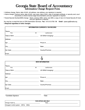 Social Security ID Card, And Your Signature Is Required   Nasba. DATE STAMP  ORACLE INFORMATION CHANGE FORM ...