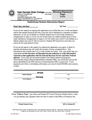 Fafsa Form Templates - Fillable & Printable Samples for PDF, Word ...