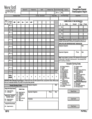 Fillable Online fisops wayne Forms - Fiscal Operations - Wayne State