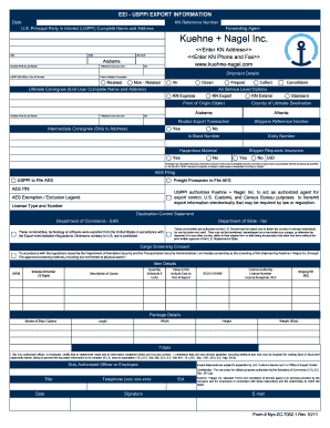 eei form ups fill online printable fillable blank