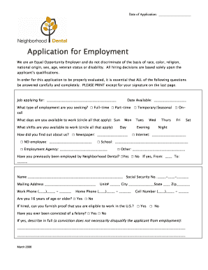 6830674 Dental Job Application Form Pdf on letter format sample, dunkin donuts, printable basic, panera bread, dollar tree, print out, pizza hut,