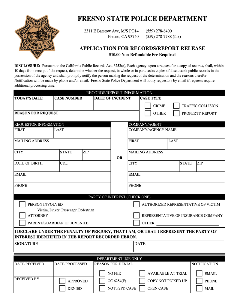 Police Report Form - Fill Online, Printable, Fillable, Blank