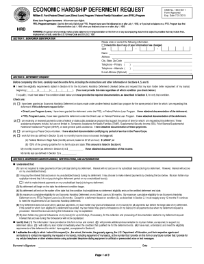 Nelnet Economic Hardship Form - Fill Online, Printable, Fillable ...