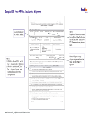 Fcc Id Form 740 - Fill Online, Printable, Fillable, Blank | PDFfiller